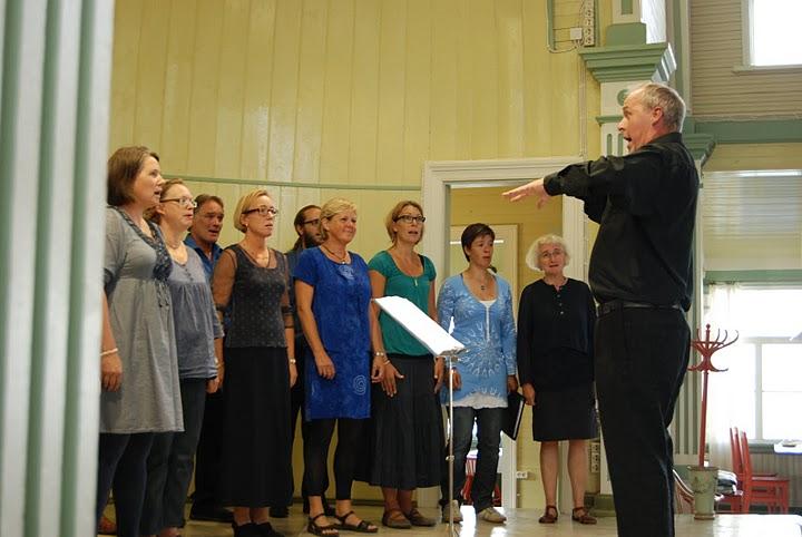 Allmänna Sången Visby i Haapsalu, Estland. Sept 2011