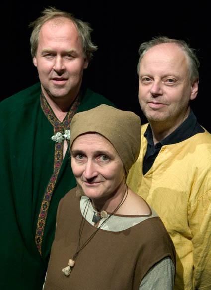 Författarna till Utlottningen. Foto: Stig Hammarstedt