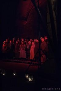Adventskonsert i St Lars ruin 29/11. Foto: Anna Ericsson, www.fotogotland.se